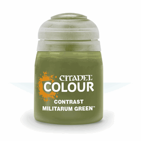 Contrast Militarum Green