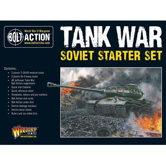 Tank War Soviet Starter Set Box Front