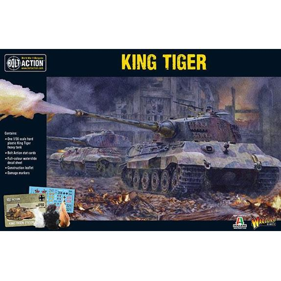 402012001 King Tiger Box Front 600Px