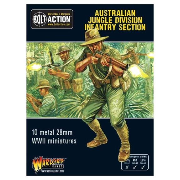 402215001 Australian Jungle Division Infantry Section 01