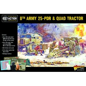 402211001 8Th Army 25Pdr And Quad Box Front