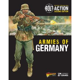 Bolt Action Armies Of Germany Front Cover 2Nd Ed