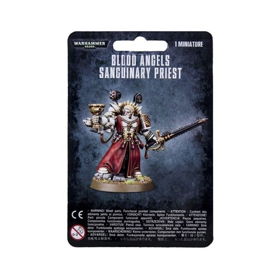 Blood Angels Sanguinary Priest P6573 12638 Image