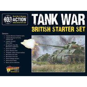 Tank War British Starter Set Box Front