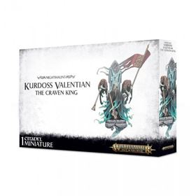 Games Workshop Warhammer Age Of Sigmar Nighthaunt Kurdoss Valentian The Craven King P166887 201824 Image