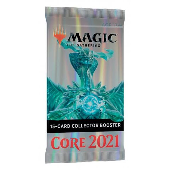 Magic The Gathering Core Set 2021 Collector Booster Pack 15 Cards P195314 250897 Medium